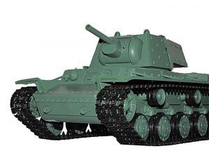 CzołgHeng Long kw1 -06