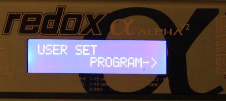ŁadowarkaModelarskaRedox-user set program